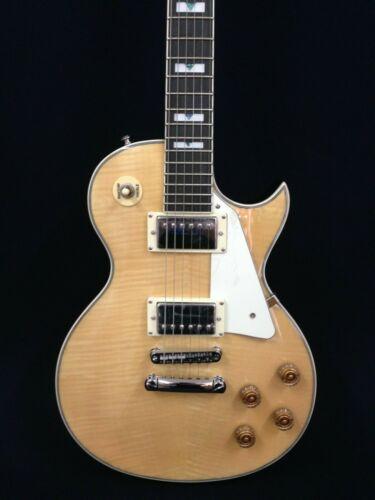 Haze Solid Mahogany Body 238A/N Electric Guitar,Flame Maple Veneer +Free Bag
