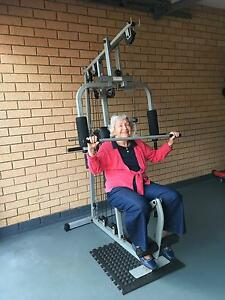 Home Gym -chest press-flys-bicep curls-lat pull downs-leg extens Sunnybank Brisbane South West Preview