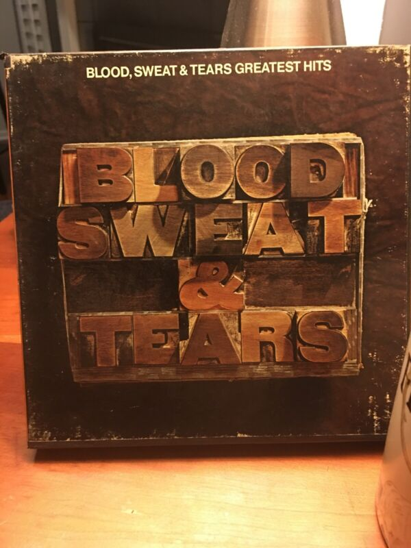 Blood Sweat & Tears Greatest Hits Reel To Reel Tape 3 3/4 Ips (cr 31170) Tested