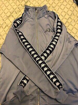 Men's Blue Kappa Track Jacket RARE COLOR XL