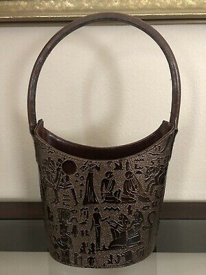 Women's Purse Tote Egyptian Chariots Horse Ankh Cross Pharaohs Soldier Costume