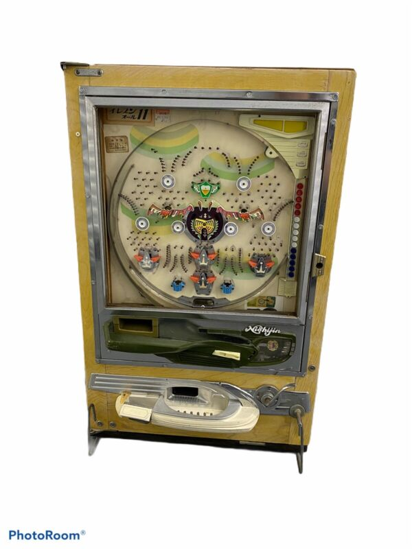 Vintage Nishijin Sophia Pachinko Machine Made In Japan For Repair