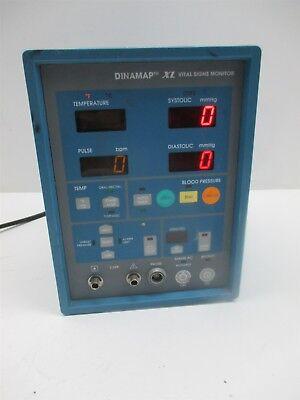 Johnson Johnson Dinamap Xl 9340 Vital Signs Monitor Critikon Patient Unit