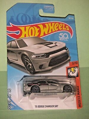 HOT WHEELS 2018  66/365  '15 Dodge Charger SRT  MUSCLE  MANIA 3/10  1:64