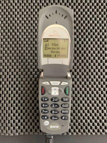 OEM BMW Motorola V60 V60iC CDMA Flip Cell Phone - Classic Vintage Cellphone # T9