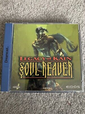 Legacy Of Kain Soul Reaver Sega Dreamcast Game Complete In Case With Manual PAL
