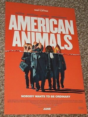 American Animals 11X17 Promo Movie Poster