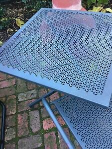 outdoor table and chairs Hawthorn Boroondara Area Preview
