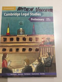 Cambridge legal studies preliminary year11/12