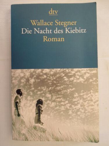Die Nacht des Kiebitz von Wallace Stegner (2009)