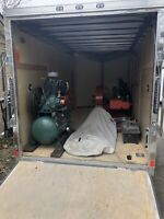 Duct cleaning equipment and trailer