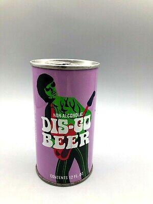 Sweet 12oz DIS-GO BO'd SS Pull Tab Beer Can Eastern Brew Hammonton N.J. + Zip