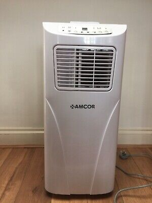 AMCOR SF12000E Portable Air Conditioning Unit White Used Only Once.