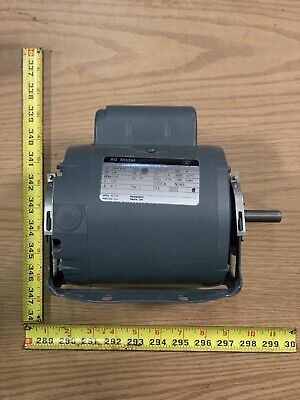 Westinghouse 14 Hp Single Shaft Electric Motor 1725 Rpm 115v 1 Phase A48z Frame