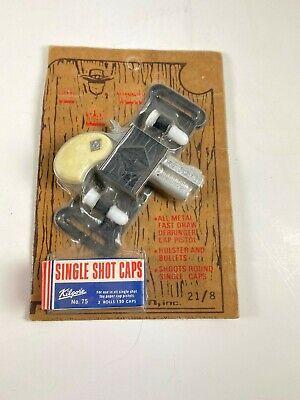 Vintage Western Man Derringer Toy DieCast Made In The USA Still Sealed