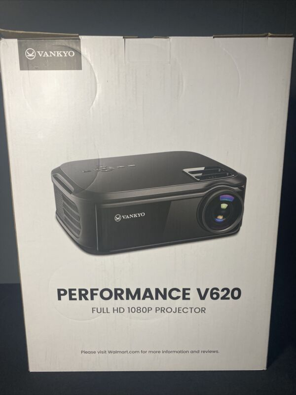 VANKYO V620 NATIVE 1080P full HD projector 6000 lumens LED Projector 1920 HDMI