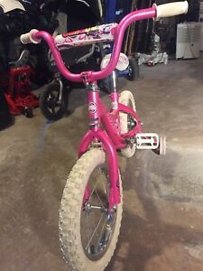 "16"" kids bike with training wheels"