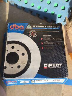 Disc Brake Rotor; Rear Standard