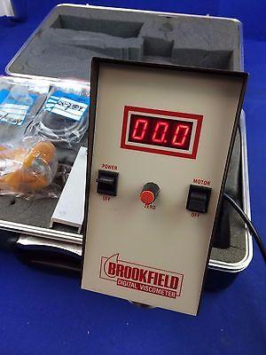 Brookfield Rvtd Viscometer W Cooling Plug Assy Ht-69y Bracket Dv-250y Cable