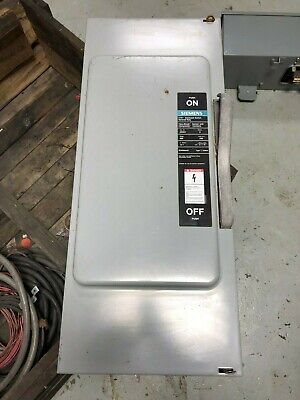 Siemens Ite Enclosed Switch General Duty Jn424 Series A 200 Amp Disconnect