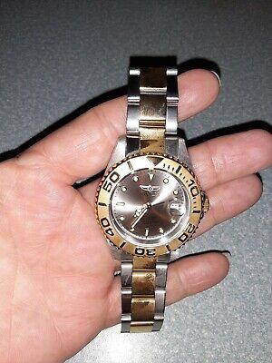 Smaller Unisex Invicta Stainless Steel Watch Model # 29943. Never Been Worn!!