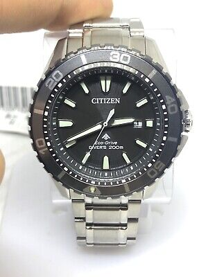 Citizen Eco-Drive Promaster Stainless Steel Mens Watch BN0198-56H #30