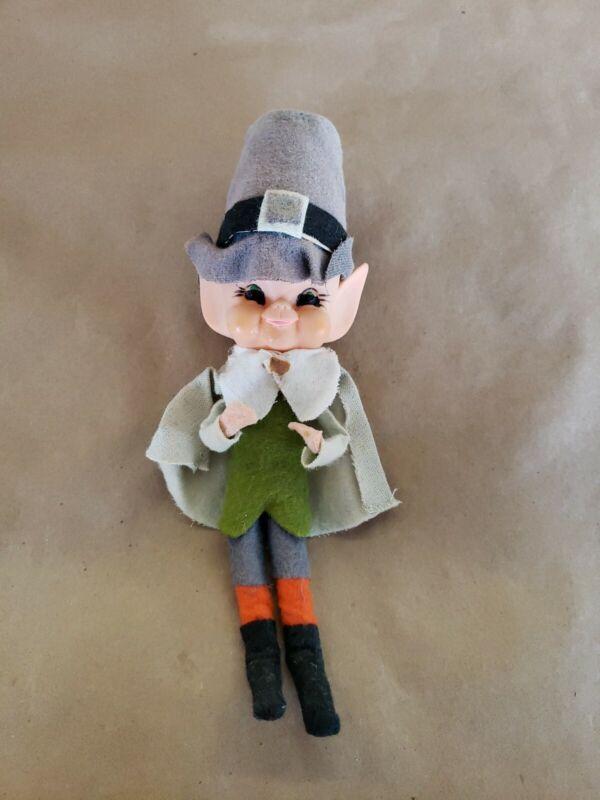 Rare Vintage Made In Japan Leprechaun Pixie