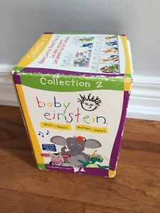 Baby Einstein art and music dvds