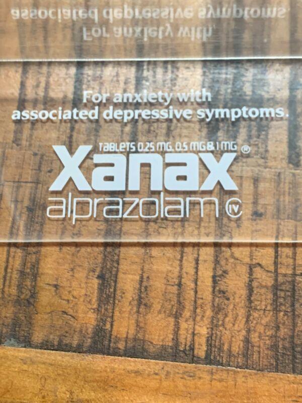 1989 Upjohn (Pfizer) Xanax Promotional Frame