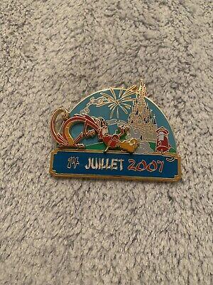 Pin 55753 DLRP - Bastille Day 2007 Castle and Mushu Disney DLP