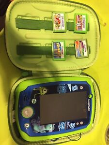 Leap pad 2 and 5 games and head phones