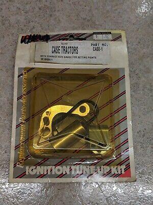 Case Tractor W Autolite Distributors Ignition Tune Up Kit