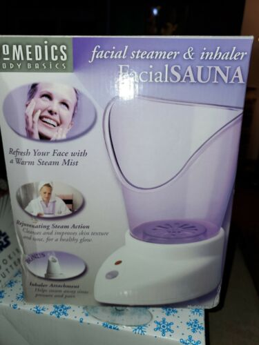 Facial Sauna -Steamer and Inhaler by Homedics