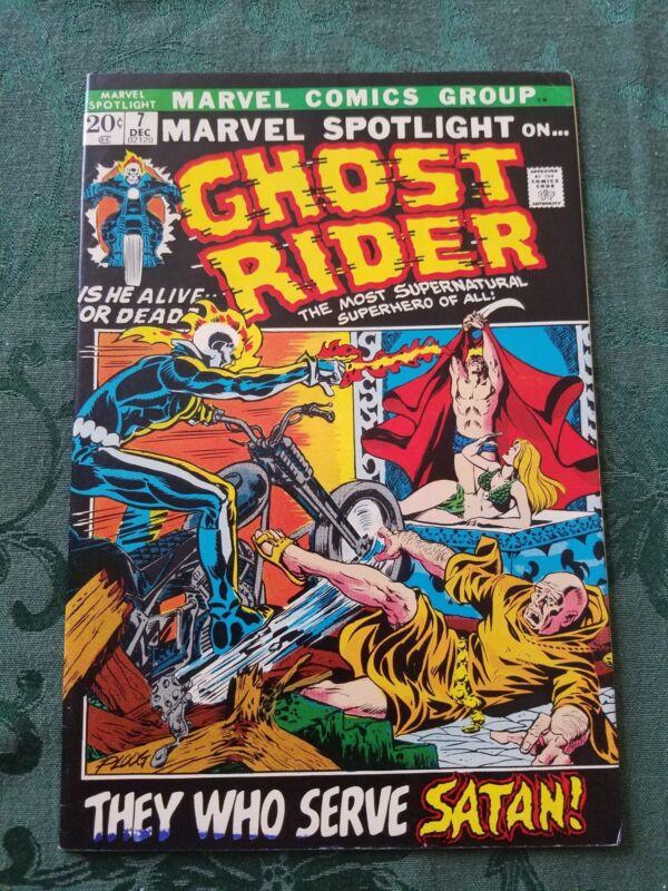 Marvel Spotlight #7 Ghost Rider VF