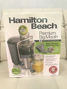 Brand New in Box Hamilton Beach Juicer