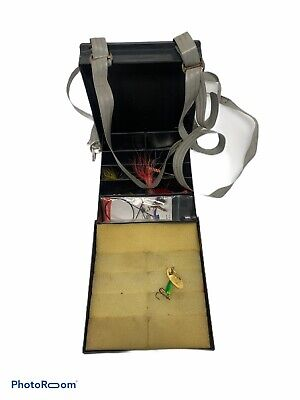 Truly Teague Khaki Messenger Bag Frog with Top Hat