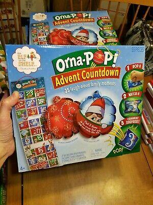 The Elf on the Shelf Orna-Pop Advent Countdown Calendar Kids Christmas Ornaments