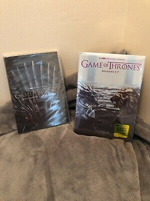 GAME OF THRONES COMPLETE SERIES SEASONS 1-8 (DVD, 34-Disc Boxed Set)