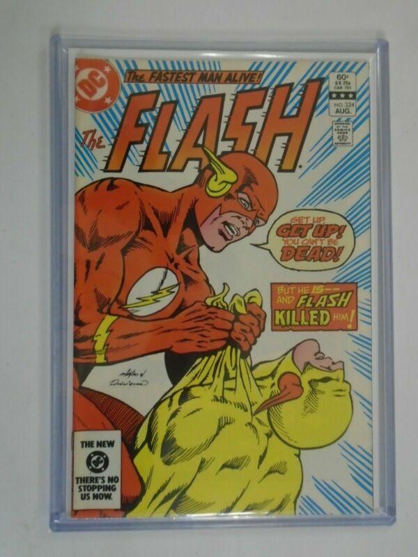 The Flash #324 8.0 VF (1983 1st Series)