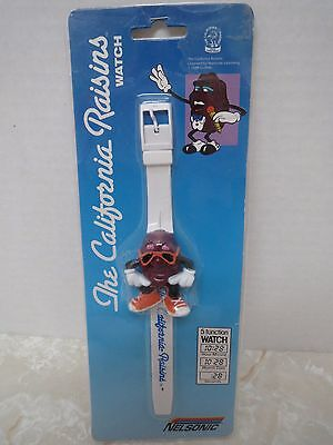 The California Raisins Wristwatch Watch Nelsonic Vintage 1988 In Package