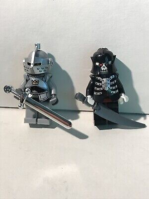 Lego Tic Tac Toe 4519694 Castle Knights Kingdom Minifig Rare Weapon Skeleton