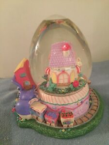 Boule de verre Pâques/ Glass globe Easter