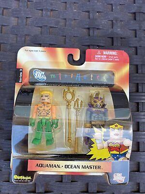 DC Direct Mini Mates Series 3 Aquaman & Ocean Master DC Comics 2006