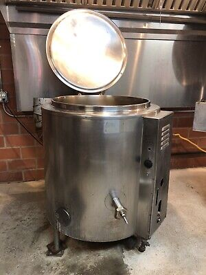 Groen Steam Jacketed Kettle 40gal Commerical Kitchen - Used Condition
