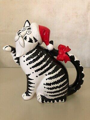 VINTAGE KLIBAN SANTA CAT TEAPOT BY SIGMA THE TASTESETTER