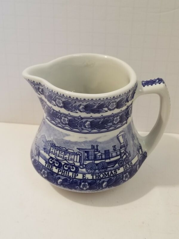 B&O Baltimore and Ohio Railroad China Dining Car Pitcher