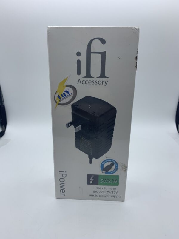 ifi Accessory iPower Low Noise DC Power Supply w/h International Travel Adapter