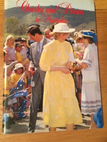 PRINCESS DIANA -CHARLES & DIANA IN AUSTRALIA - SOFT COVER BOOK  **LAST ONE**