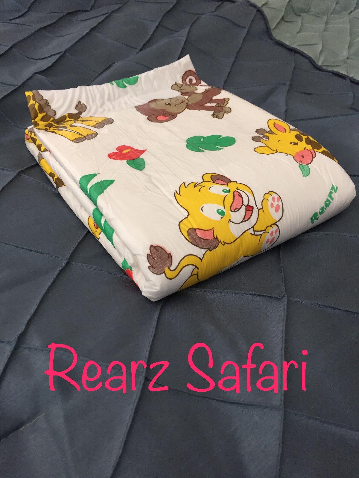 Adult Diaper Sample - Rearz Safari - Small - 2 samples
