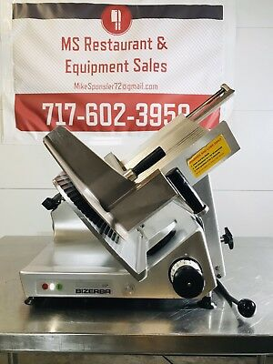 Bizerba 2012 Gsp-h Manual Meat Cheese Deli Slicer W Sharpener. Great Condition